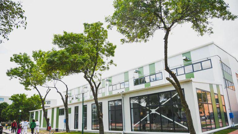 Школата на ВК Хебър вече с нов дом