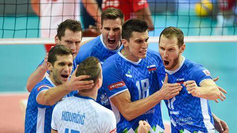 Словения отново разплака Полша и е на финал на Евроволей 2021