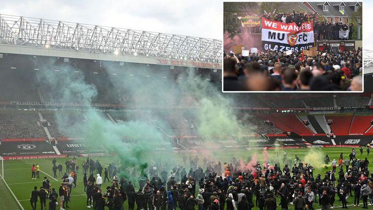Феновете на Ман Юнайтед отново ще използват дербито с Ливърпул за протести