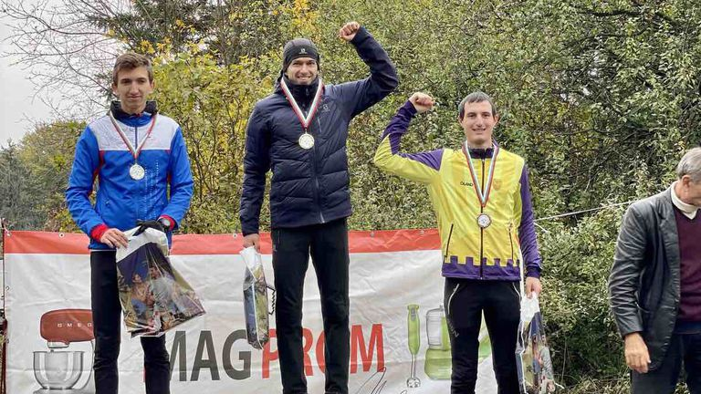 Иван Сираков и Кристина Иванова с държавните титли в маратонското ориентиране