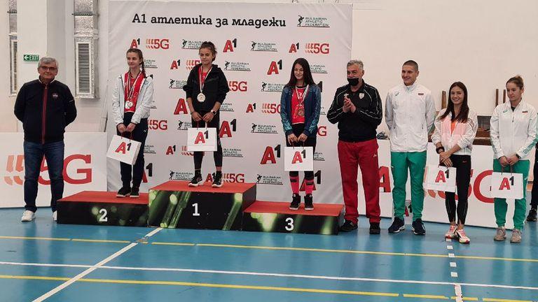 Таланти от Видин и Пловдив са номер 1 в младежката атлетика в България за 2021 година