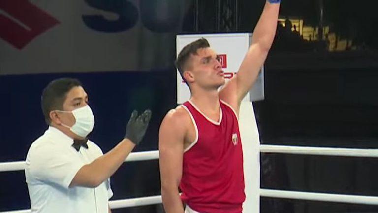 Уилиам Чолов на 1/4-финал на Европейското в Будва