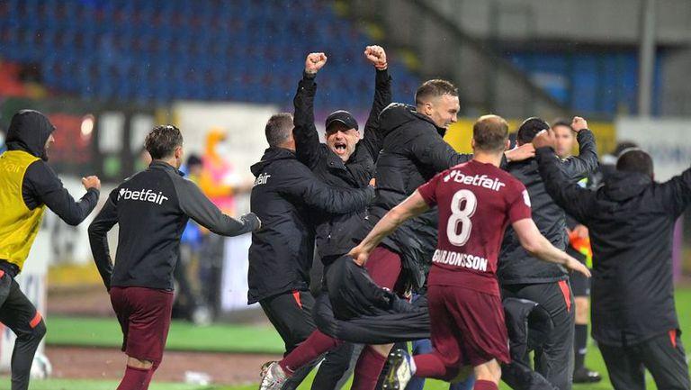 Бивш треньор на ЦСКА-София изведе ЧФР Клуж до титлата в Румъния