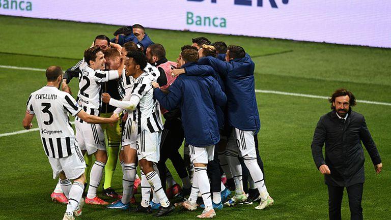 Ювентус спаси сезона, спечелвайки Купата на Италия след 2:1 над Аталанта