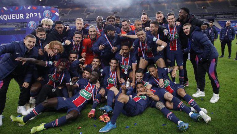 Мбапе наказа бившия си отбор и донесе Купата на Франция на ПСЖ