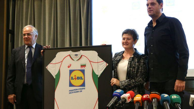 Националният отбор по волейбол с нов генерален спонсор