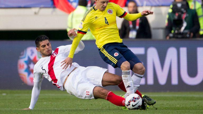 Колумбия и Перу не се победиха