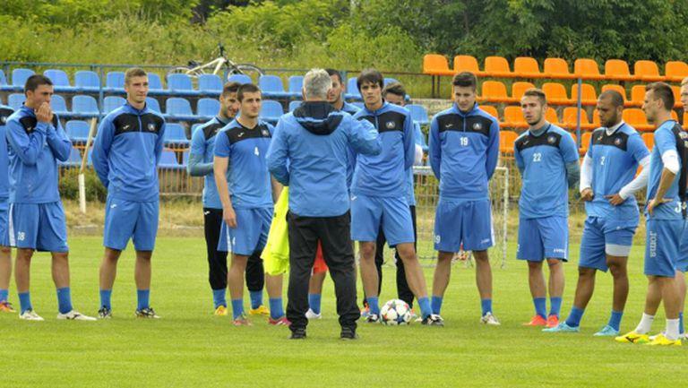 Левски с първа тренировка в Самоков
