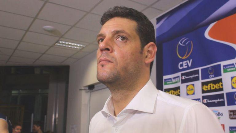 Константинов: Съжаляваме за мача с Франция