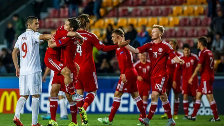 Дания и Германия се класираха за полуфиналите на европейското за младежи