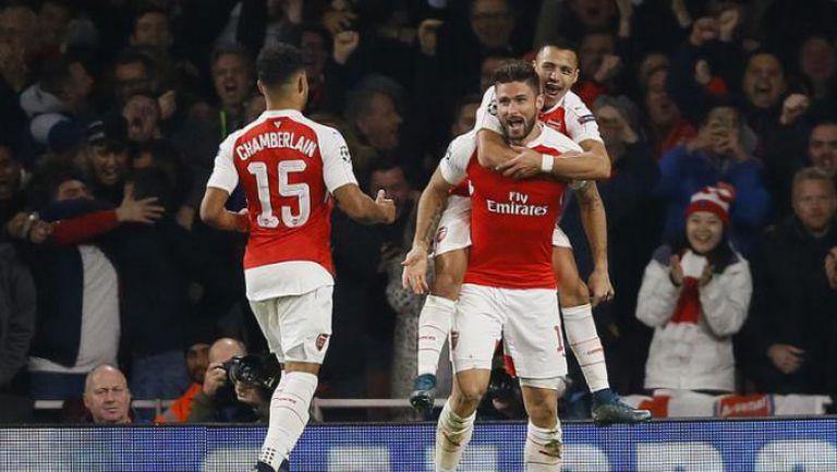 Арсенал - Евертън 2:1