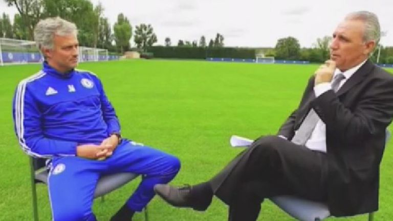 Стоичков взима интервю от Моуриньо