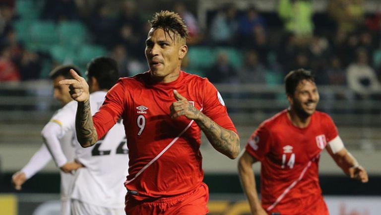 Хеттрик на Гереро прати Перу на полуфинал