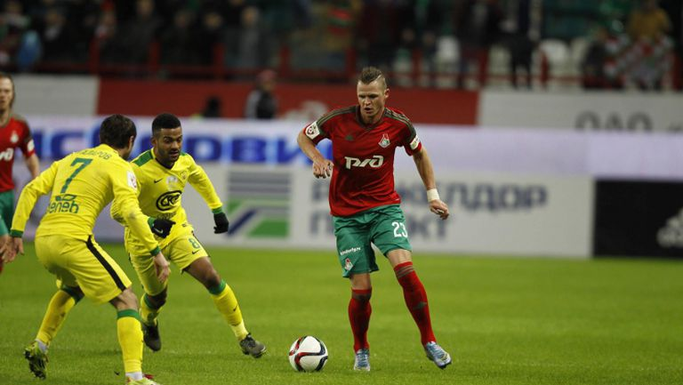 Локомотив (Mосква) - Анжи 0:2