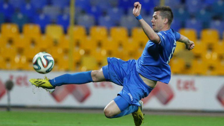 Валери Домовчийски с гол със задна ножица, Левадиакос - Ксанти 1:0