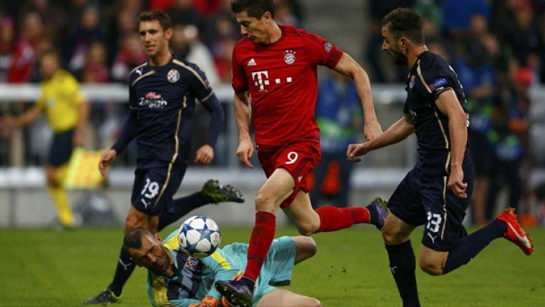 Динамо (Загреб) - Байерн (Мюнхен) 0:2