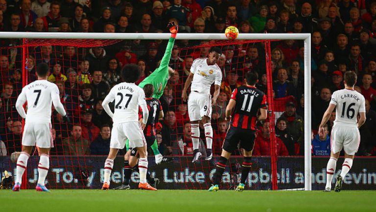 Борнемут - Манчестър Юнайтед 2:1