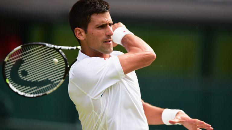 Рутинна победа за Джокович в третия кръг, следващото препятствие е Андерсън