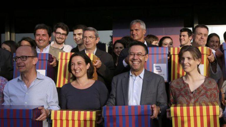 Това са кандидатите за президент на Барселона