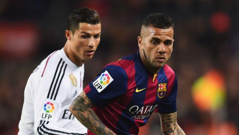 Алвеш: Кристиано не влияе върху играта на Реал Мадрид