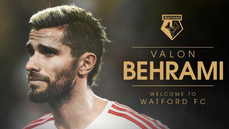 Уотфорд продължава селекцията с Валон Бехрами