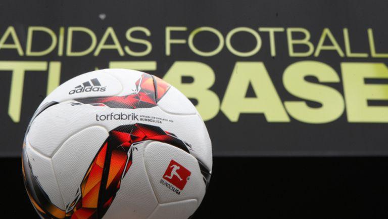 adidas представя топката за Бундеслигата - Torfabrik