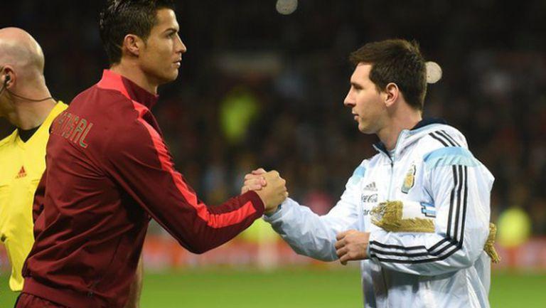Меси и Роналдо оглавяват списъка с претенденти за футболист на миналия сезон