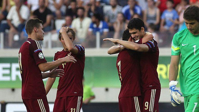 Русия на финал след разгром за едно полувреме срещу Гърция (видео)