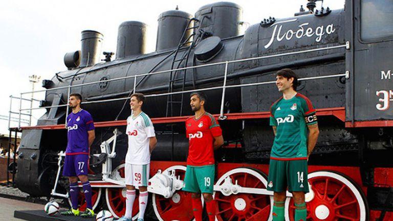 Локомотив (Москва) представи новите екипи (видео + галерия)