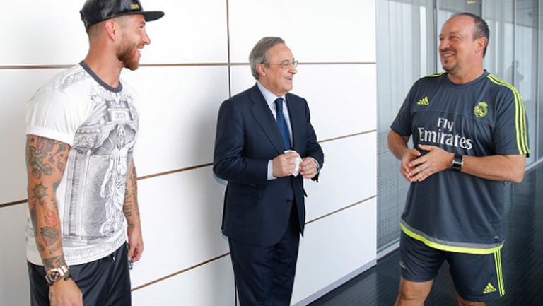 Бенитес обяви: Рамос остава в Реал