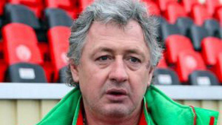 Треньорът на Рубин не знае за инцидента с Благой Георгиев в Рим