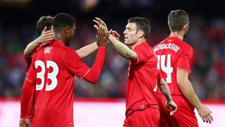 Новите носят трета поредна победа на Ливърпул (видео)
