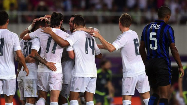Реал Мадрид мачка наред, под ножа падна и Интер (видео + галерия)