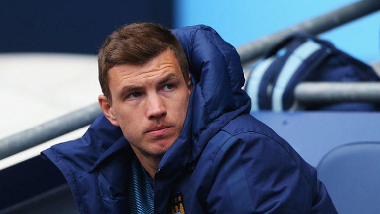 Джеко недоволства, че трансферът в Рома се бави