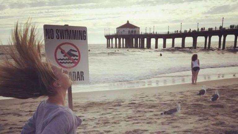 Шарапова: Добре, няма да плувам! Само ще си вея косата