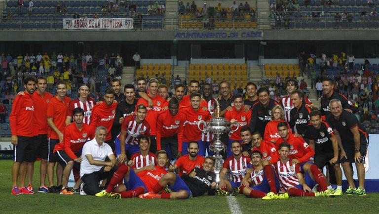 Още един трофей за Атлетико, Джаксън Мартинес с първи гол (видео + галерия)