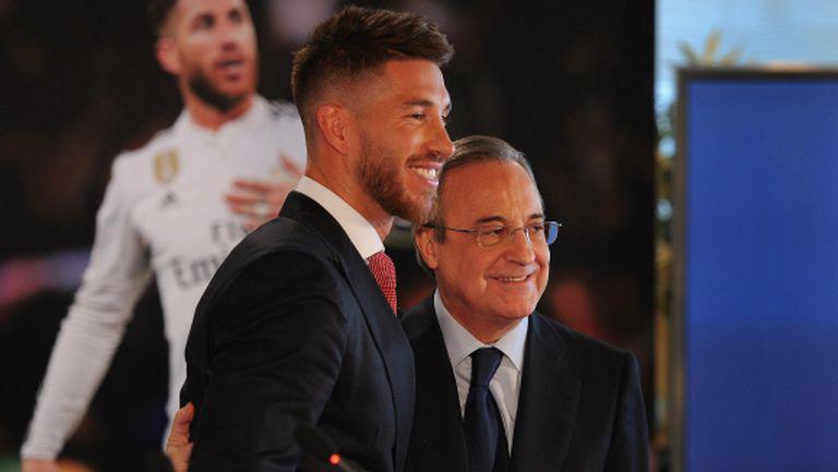 Серхио Рамос: Сърцето ми принадлежи на Реал