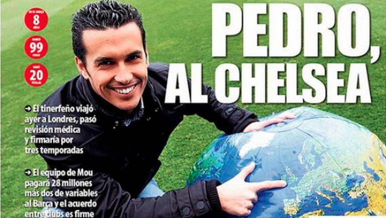Ето защо Педро избра Челси пред Юнайтед