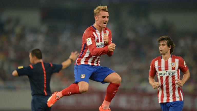Гризман донесе първи три точки на Атлетико Мадрид (видео)