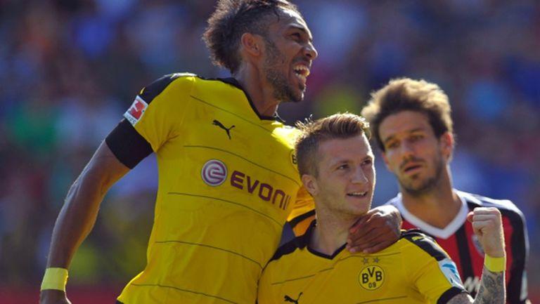 Ненаситните от Дортмунд нямат спирка - 12 гола за осем дни (видео + галерия)