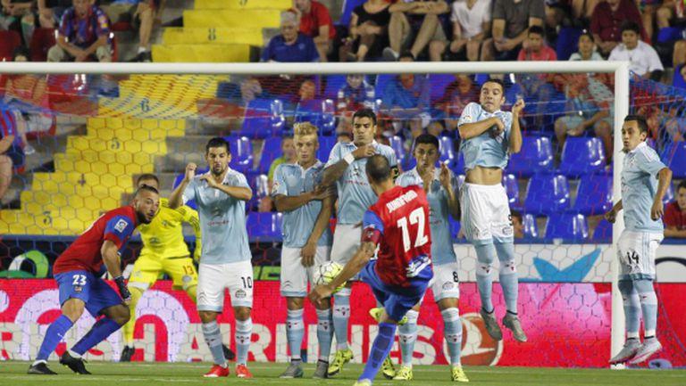 Селта си тръгна с трите точки от Валенсия след най-резултатния мач