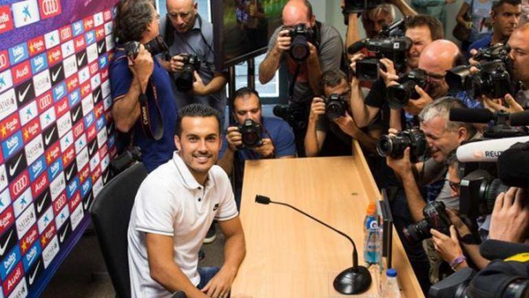 Педро обясни причините за раздялата с Барса на прощална пресконференция