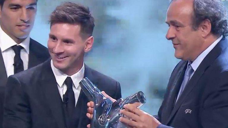 Меси е най-добрият футболист в Европа за изминалия сезон