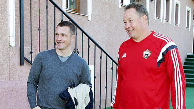 Гончаренко разкри каква е уговорката му с ЦСКА