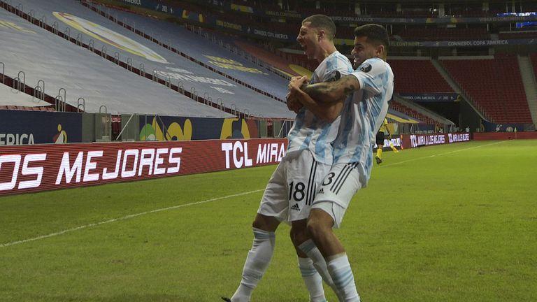 Аржентина излъга Уругвай в постно дерби на Копа Америка