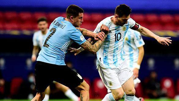 Аржентина се справи с Уругвай