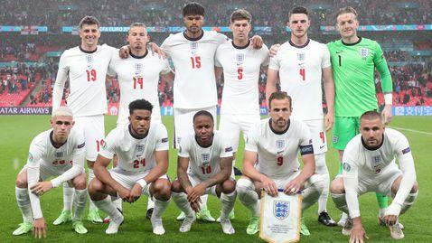 Вчерашният състав на Англия не победи Шотландия, но влезе в историята
