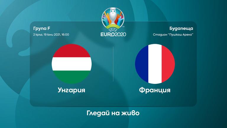 Унгария - Франция (съставите)
