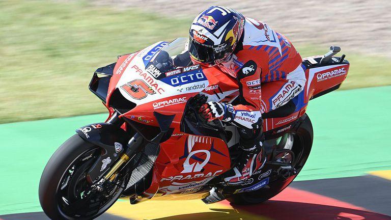 Двоен френски триумф в квалификация за ГП на Германия в MotoGP