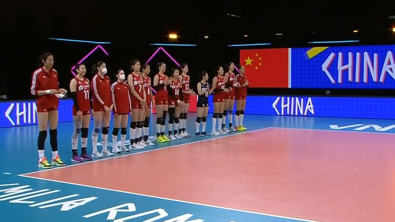 Китай - Полша (жени)  3:0